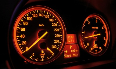Bmw 3 series night gauges