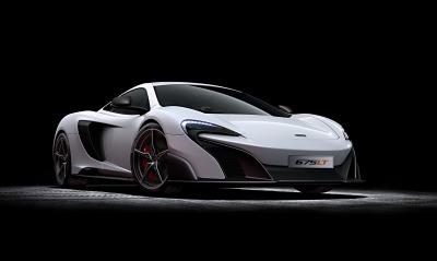 McLaren черный фон