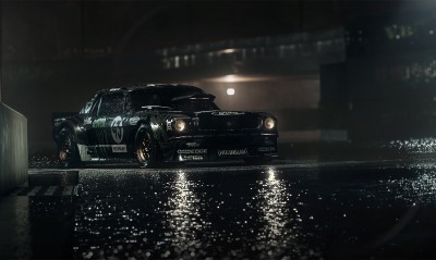 ford mustang, дорога