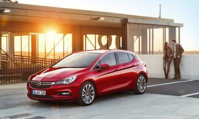 Opel Astra закат