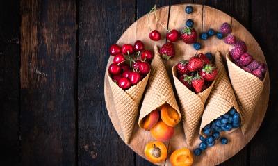 еда ягоды