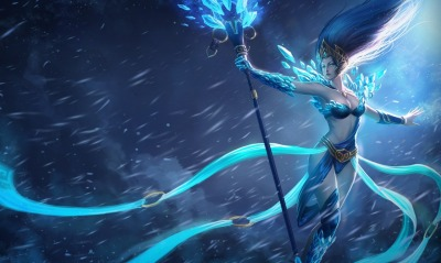 фэнтези девушка League of Legends fantasy girl