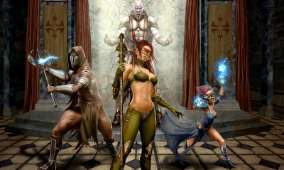 фэнтези графика EverQuest Next