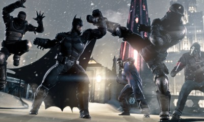 Batman Arkham Origins бетмэн
