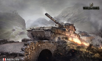 игры FV215b World Of Tanks танк game tank