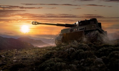 World of tanks танк закат