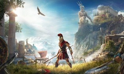 Assassins Creed Odyssey игра воин