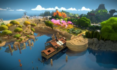 the witness, игра