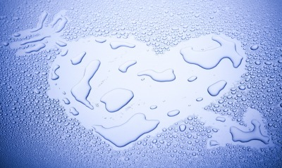 сердце капли стекло