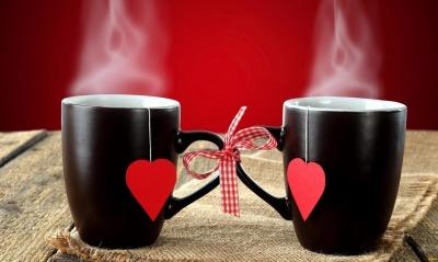 Чай сердце кружки любовь