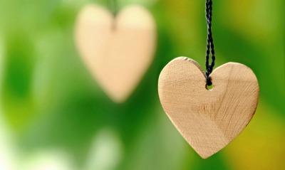 сердце дерево кулончик