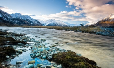 Sidelined_Landscape,Mt Cook, New Zealand