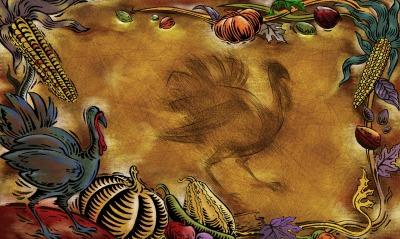 графика рисунок индюк птицы graphics figure Turkey birds