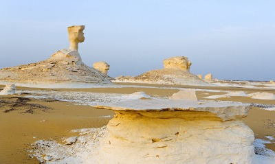 The White Desert, Near Farafra Oasis, Egypt
