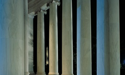 Washington Monument as Seen From the Jefferson Memorial