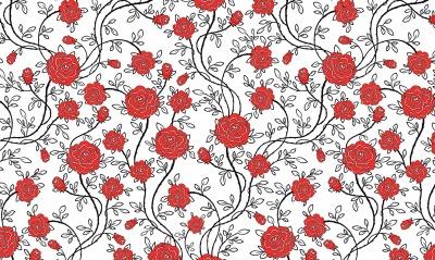 розы фон текстура